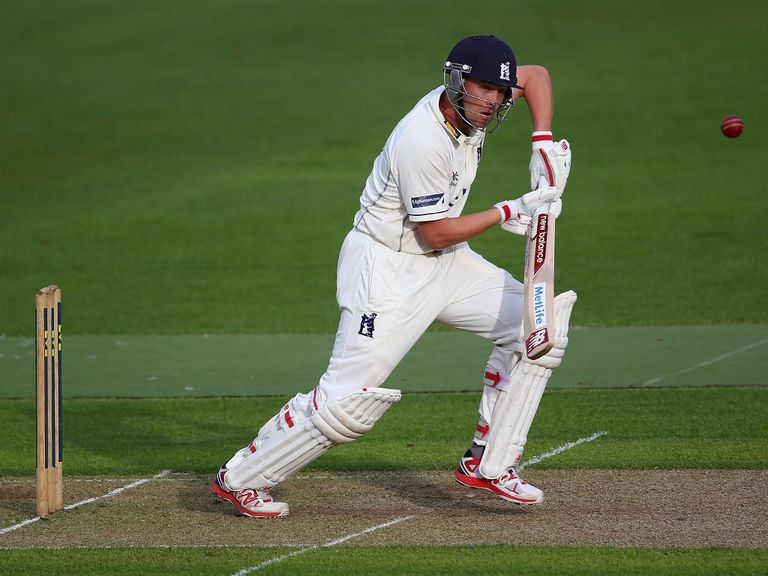 Jonathan Trott has been playing for Warwickshire this season