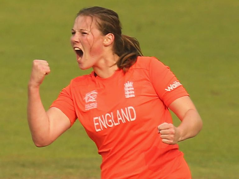 Anya Shrubsole: Named player of the tournament