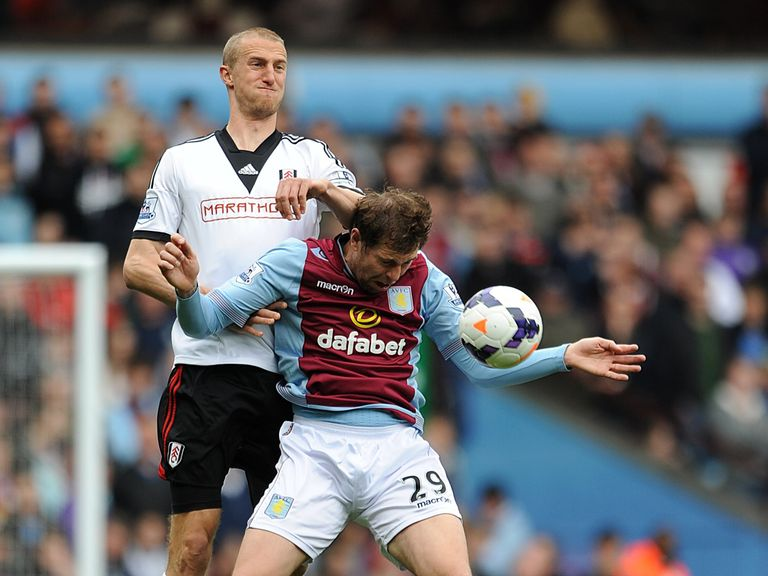 Brede Hangeland: Up for the scrap