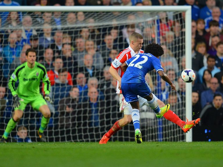 This Willian strike helped Chelsea beat Stoke 3-0