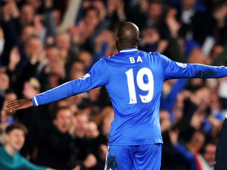 Demba Ba: Will wear the number nine shirt at Besiktas