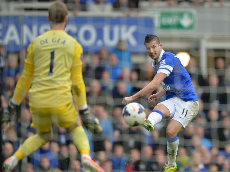 Kevin Mirallas: Out for the next three weeks