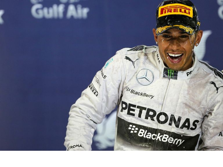 Lewis Hamilton: Winner in Bahrain last time out