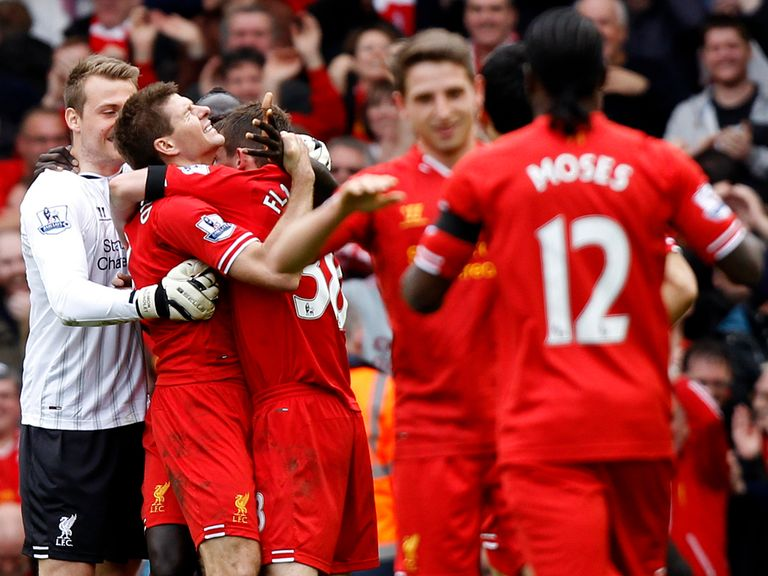 Liverpool show emotion after beating Manchester City 3-2