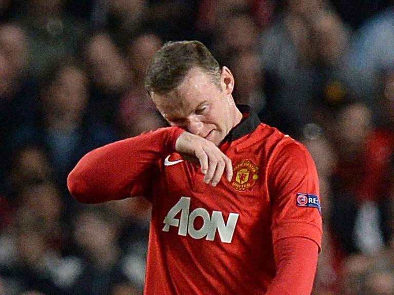 Wayne Rooney: Big concern for Manchester United