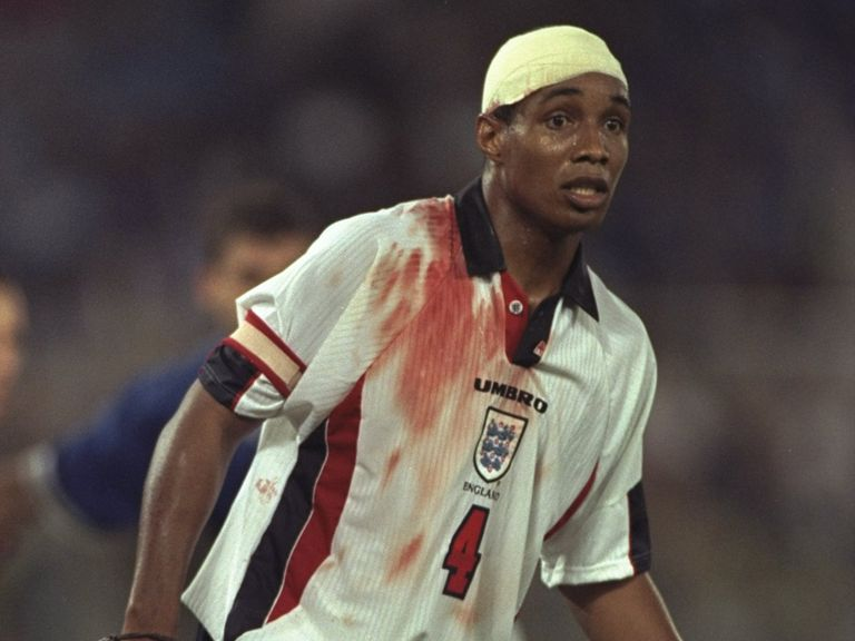 Paul Ince's 1997 heroics; not dissimilar to Cheeky's drinking in Leeds