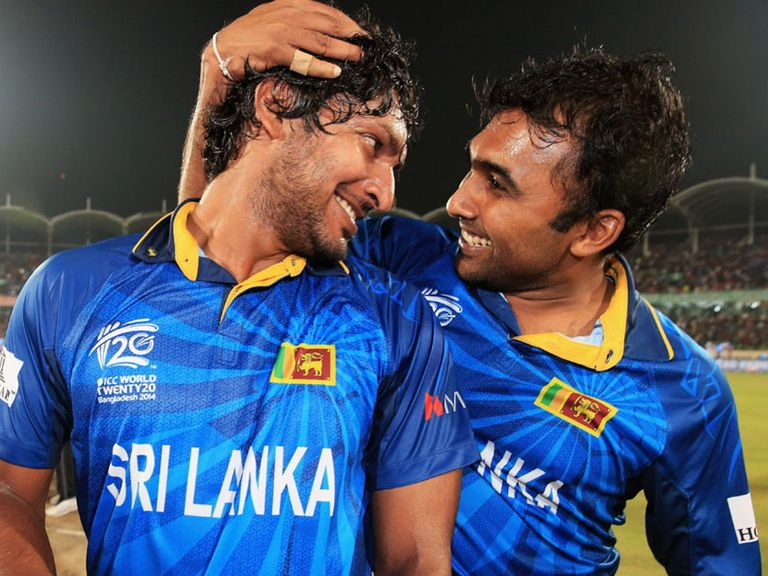 Sangakkara and Jayawardene: Hit out at SLC criticism