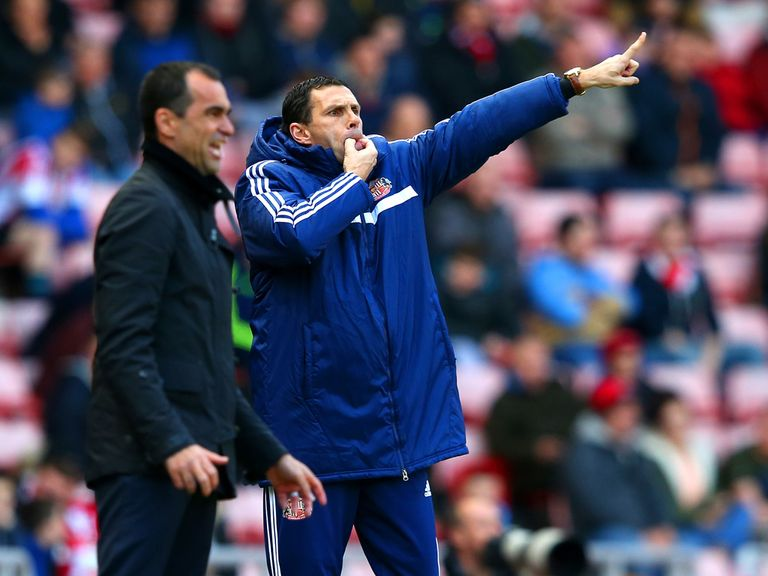 Gus Poyet: Under pressure at Sunderland