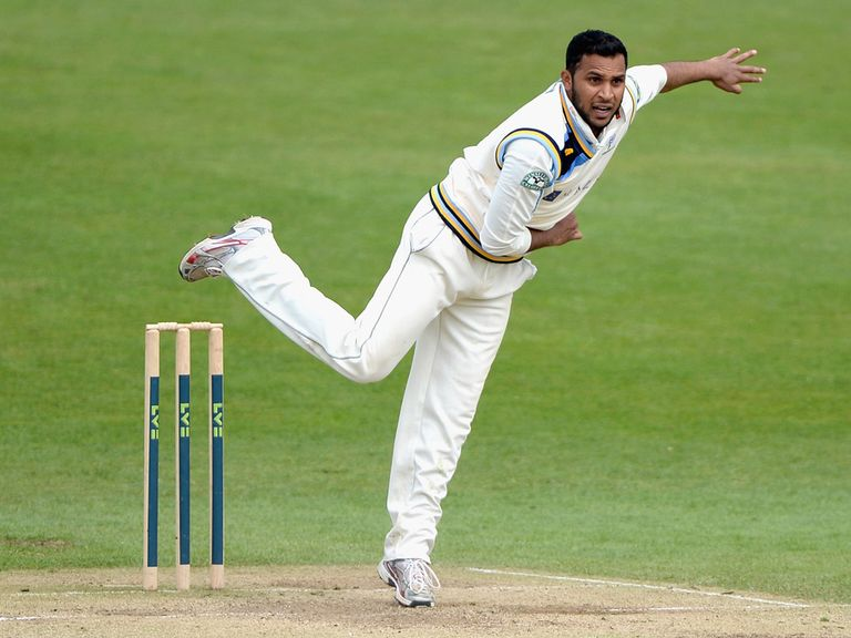 Adil Rashid: Impressed for Yorkshire