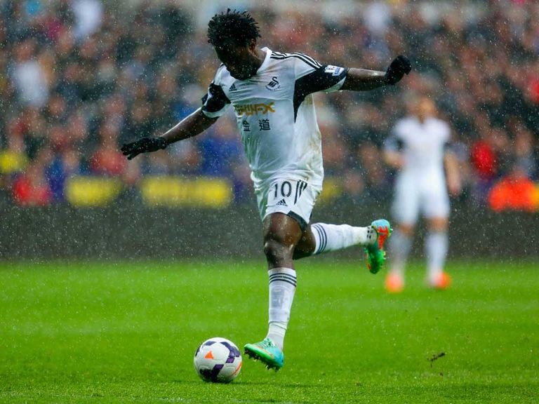 Wilfried Bony: Has hit top form at the end of the season