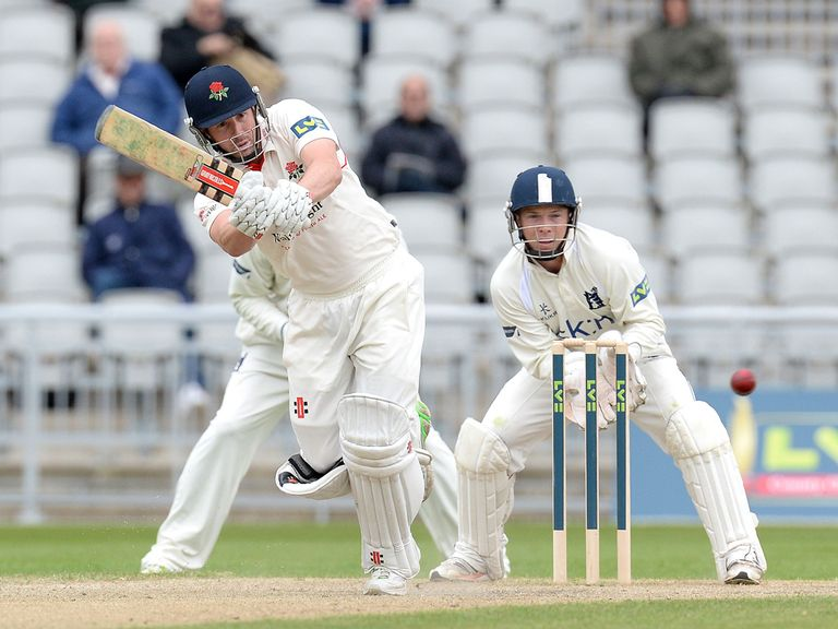 Lancashire batsman Paul Horton fell cheaply
