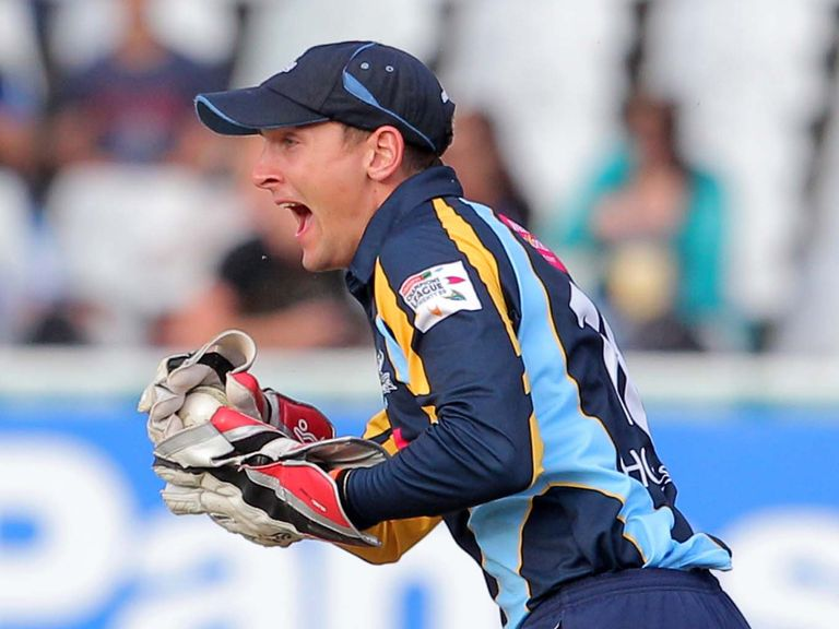 Dan Hodgson: Spending the next month with Derbyshire