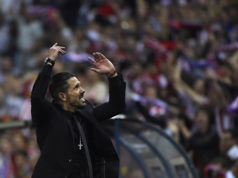 Diego Simeone: Proud of his side's efforts