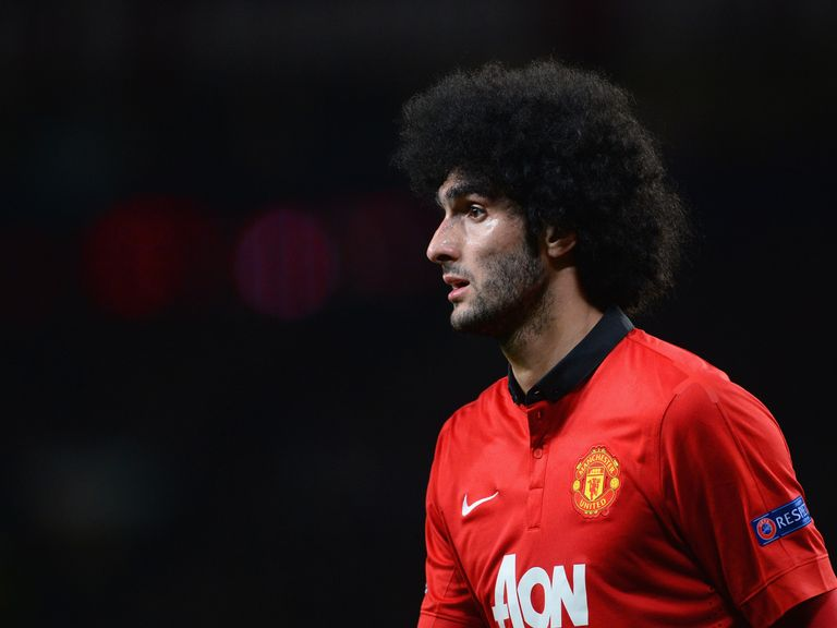 Marouane Fellaini: Could be heading out of Manchester United