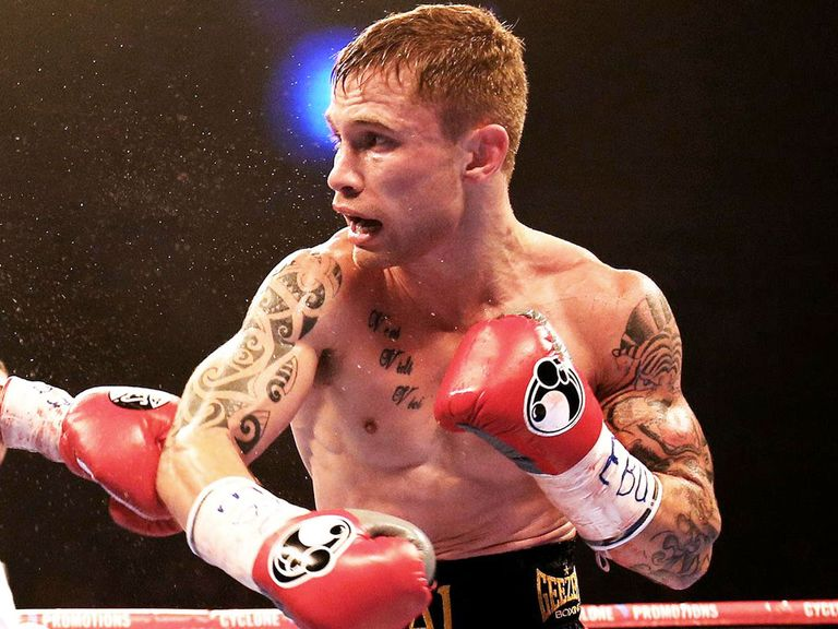Carl Frampton: Preparing to face Kiko Martinez