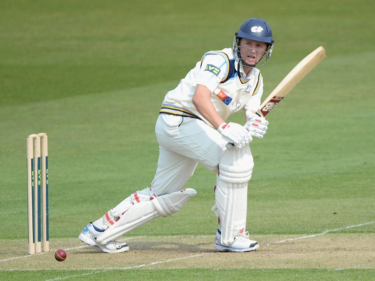 Gary Ballance: Unbeaten century for Yorkshire