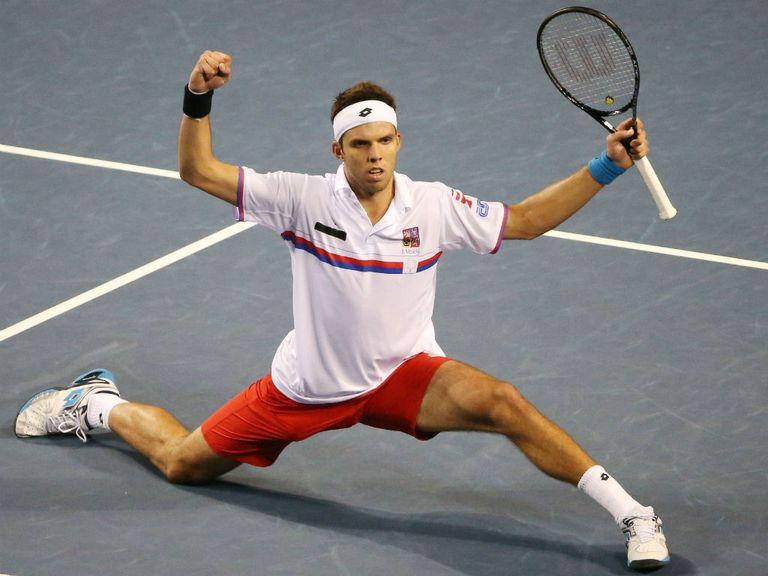 Jiri Vesely: Should make an ATP final soon