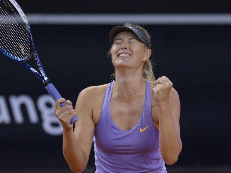 Maria Sharapova: Fought back to land Cheeky a winner
