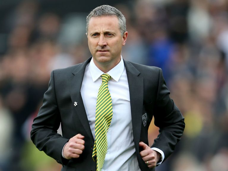 Neil Adams: Norwich's interim boss