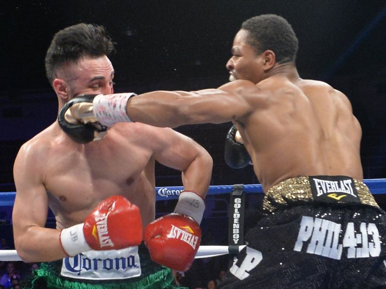 Porter lands on Malignaggi during his victory