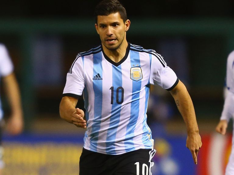Sergio Aguero: Charged with the task of firing Argentina to global glory