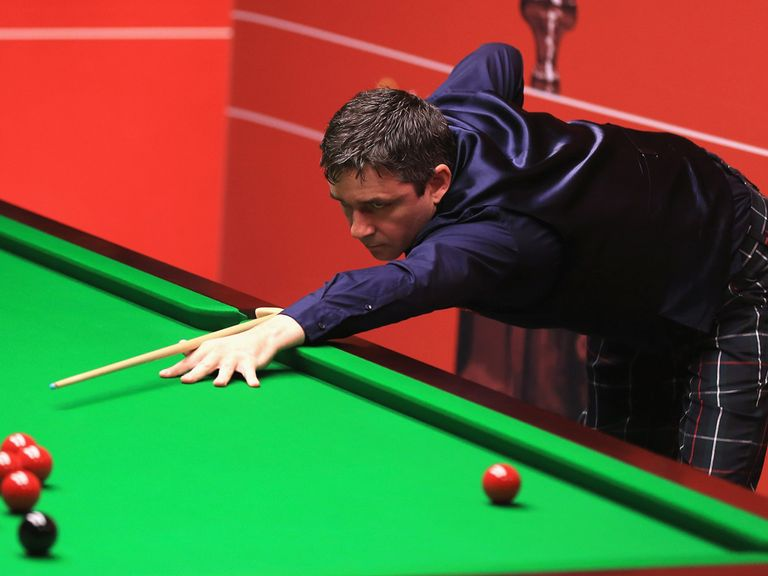 Alan McManus: Put paid to John Higgins' hopes in Sheffield