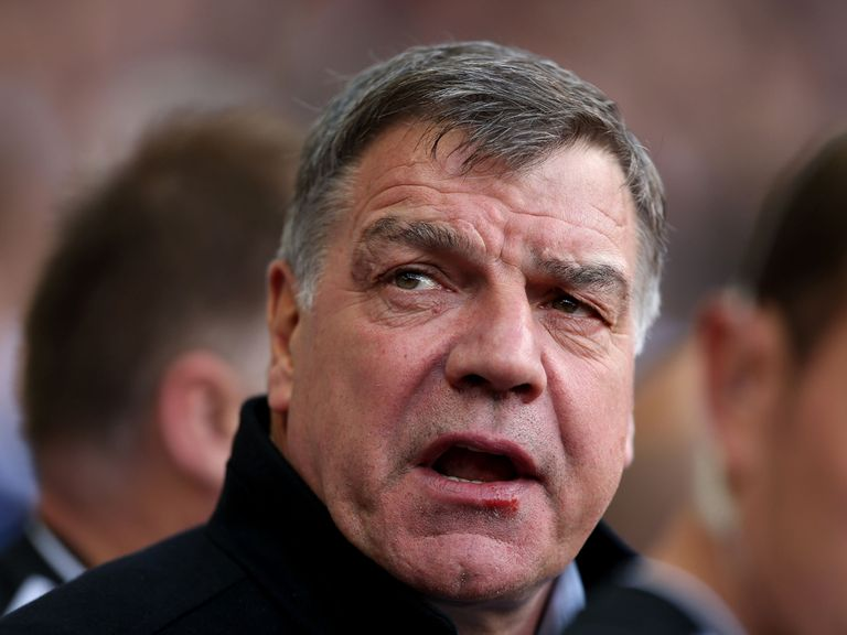 Sam Allardyce: Has urged West Ham fans to be realistic