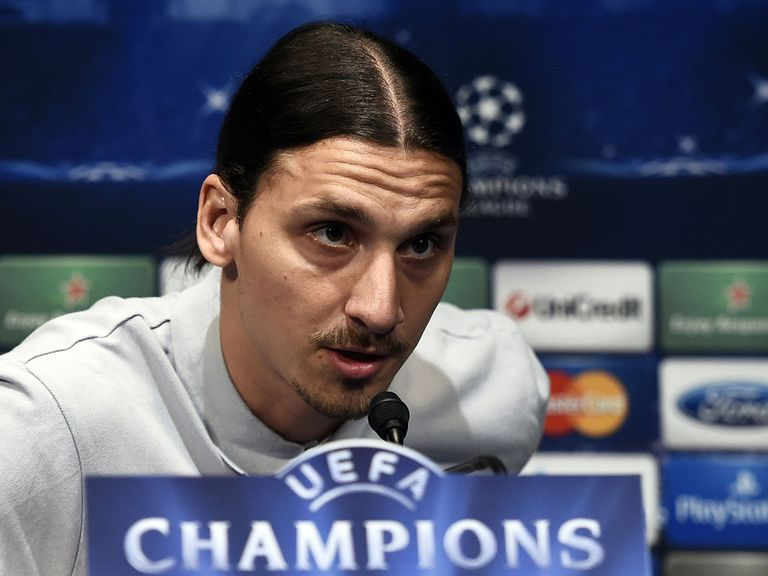 Ibrahimovic: Says playing for an English side is 'impossible'