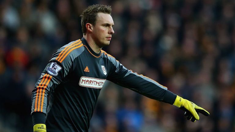 David Stockdale: Still has a year to run on his current contract
