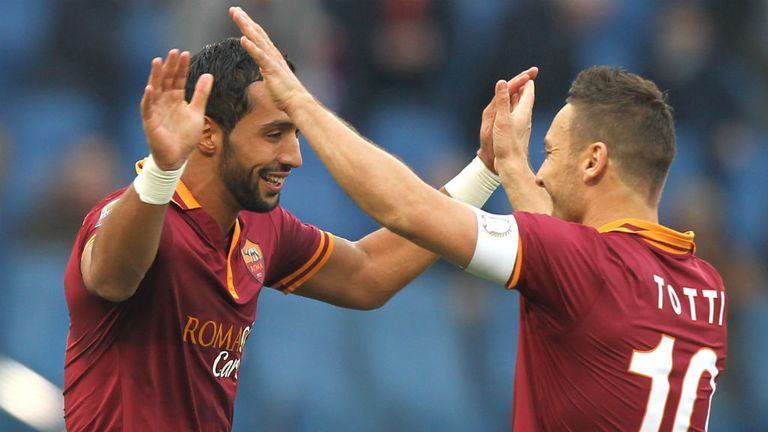 Mehdi Benatia: A key figure at Roma in the eyes of Francesco Totti