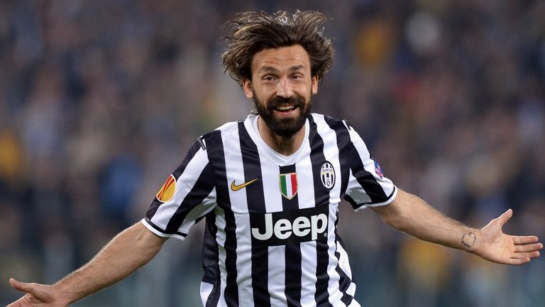 Andrea Pirlo: Veteran playmaker staying on at Juventus