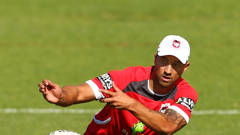 Benji Marshall: Cleared to make NRL debut for Dragons