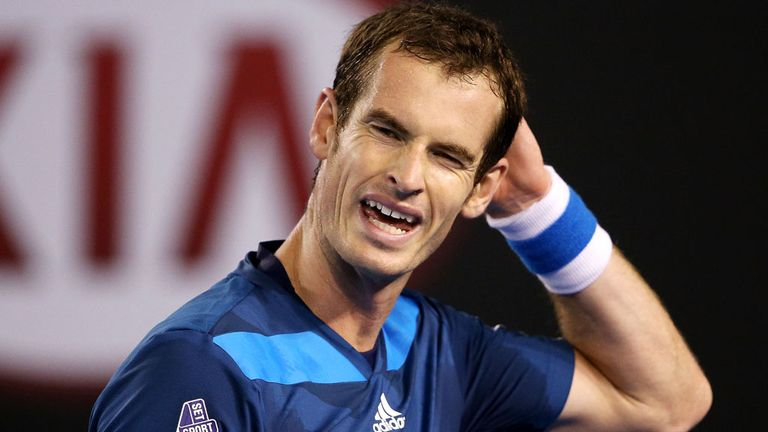 Andy Murray: Dropped to world No 8 after a lack of consistency in 2014