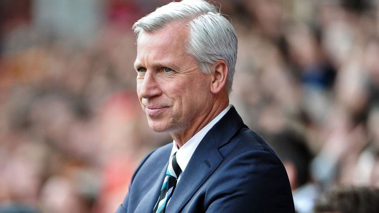 Alan Pardew: Planning to add to Newcastle's striking options this summer