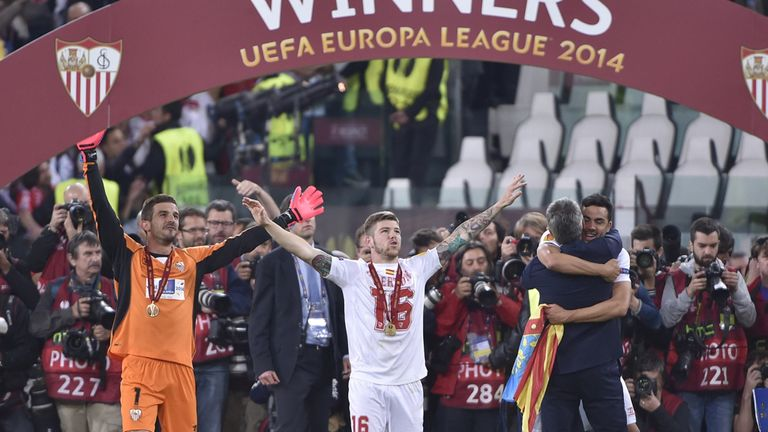 Sevilla: Europa League winners 2014