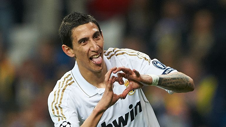 Angel Di Maria look certain to leave Real Madrid for Manchester United