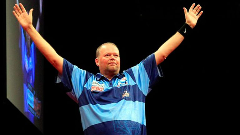 Raymond van Barneveld: Dutchman won his first Premier League title this week
