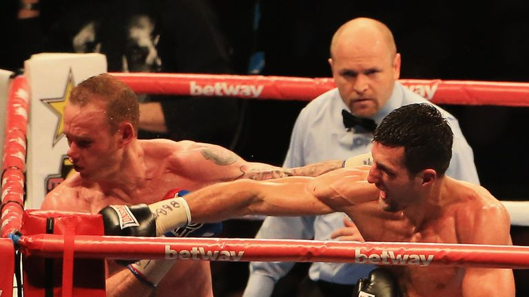 Carl Froch: Ended close fight with perfect punch in eighth round