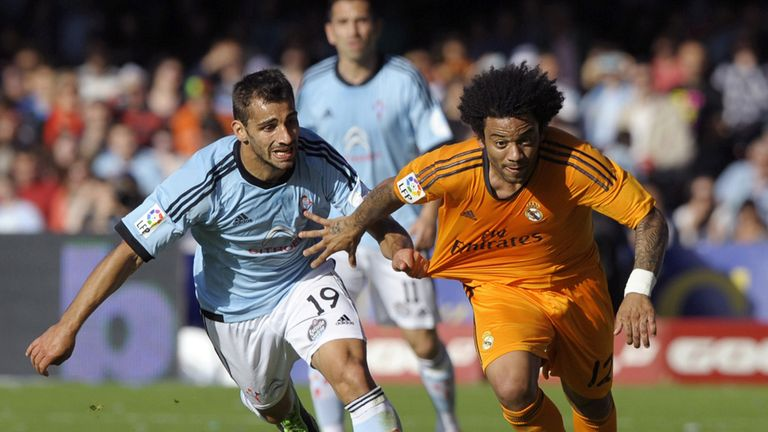 Marcelo charges forward