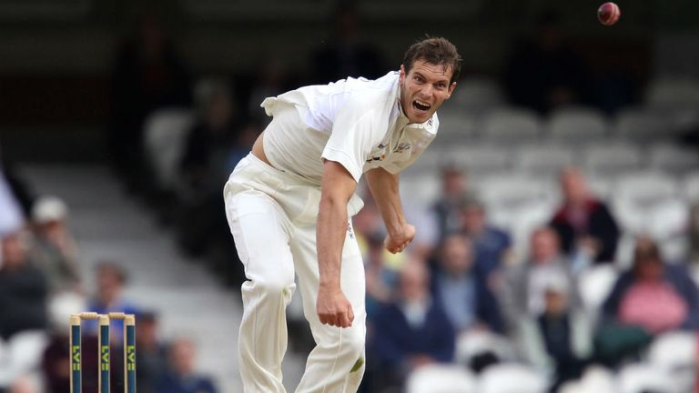 Chris Tremlett: Took six wickets on day two for Surrey at the Kia Oval