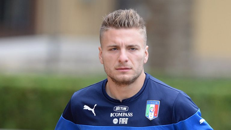 Ciro Immobile: Looking forward to playing in the Champions League