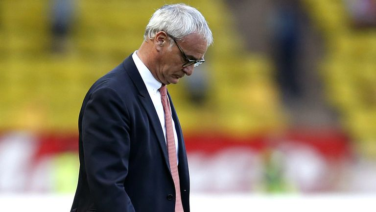 Claudio Ranieri: Sacked by Monaco after runners-up finish