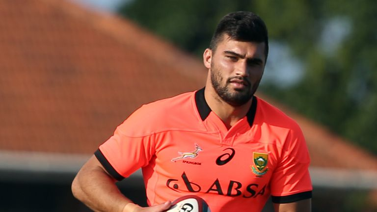Damian de Allende: Springboks centre out of summer internationals