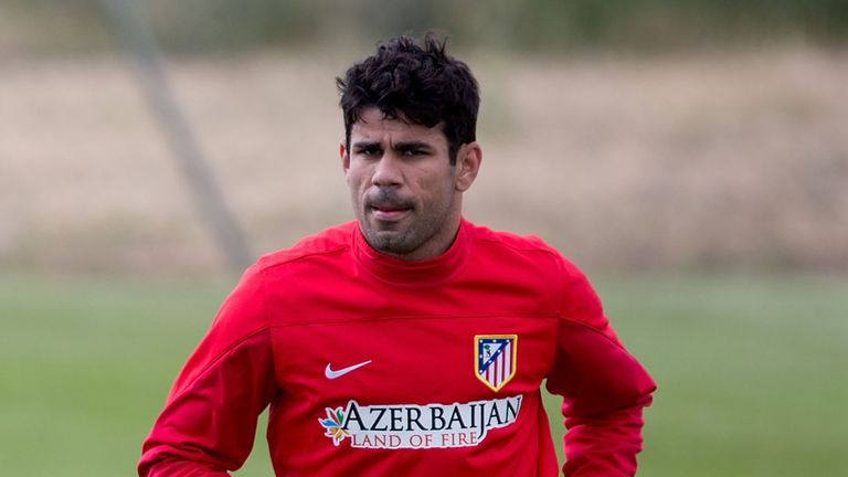 Diego Costa: Has been struggling with a hamstring injury