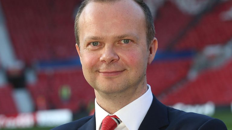 Ed Woodward: Manchester United executive vice-chairman is excited going into the new season