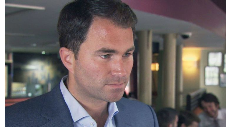 Eddie Hearn: Confirmed joint venture with Top Rank