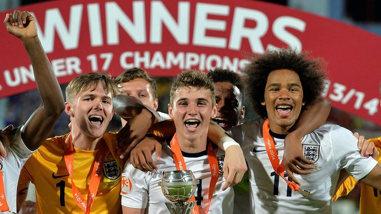 England Under-17s: Crowned European champions