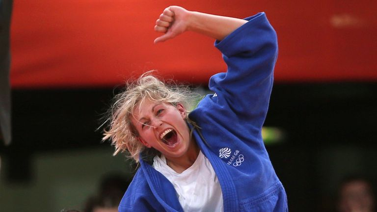 Gemma Gibbons won a bronze at Tokyo's Grand Slam in December