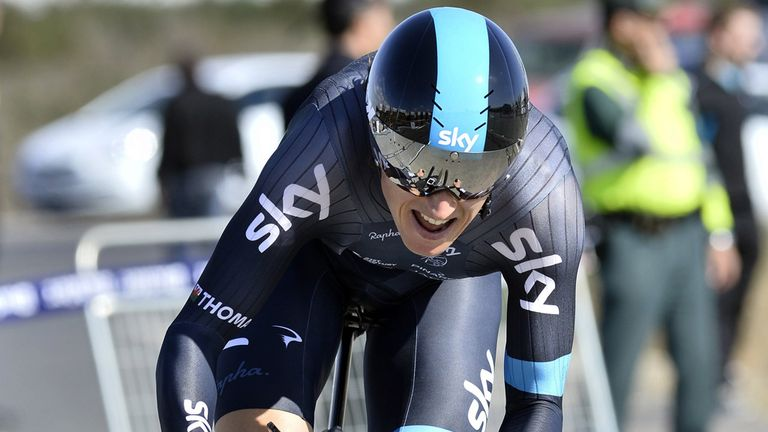 Geraint Thomas is bidding to win Bayern Rundfahrt for the second time