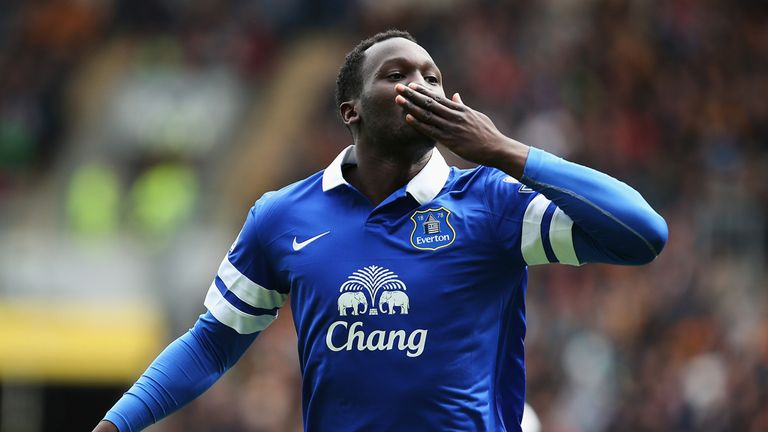 Romelu Lukaku: Signed off with a goal against Hull